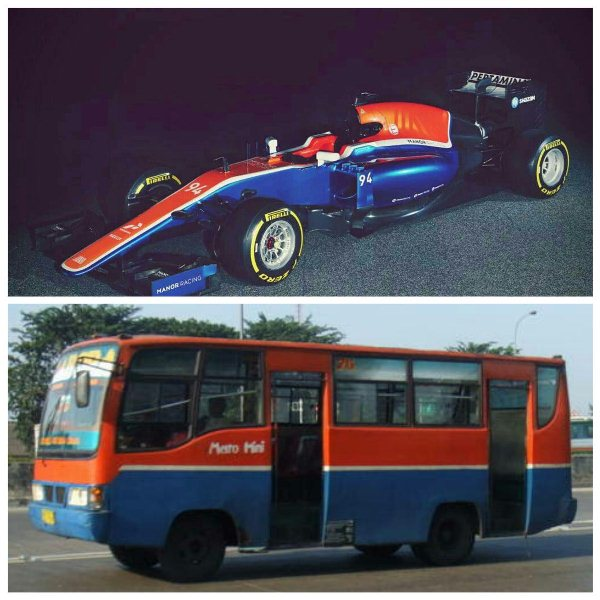 Netizen samakan mobil balap Rio seperti metromini, ada-ada saja!