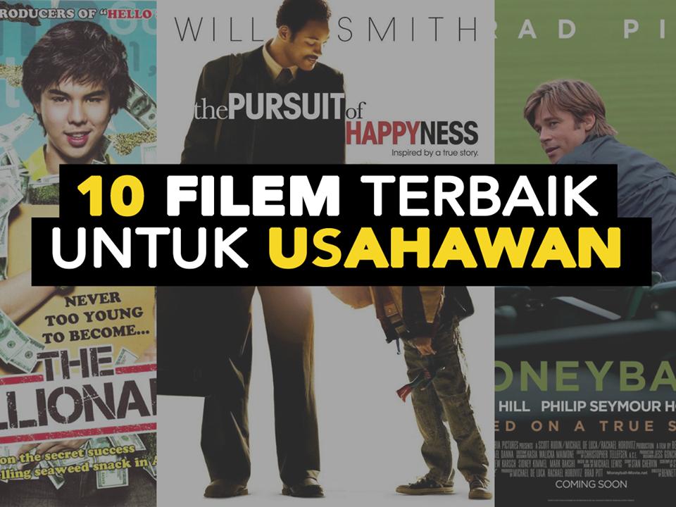 10 Film keren ini wajib kamu tonton jika ingin jadi pengusaha sukses!