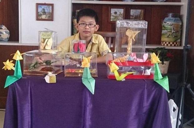 Tekuni origami, bocah 12 tahun ini ikuti olimpiade hingga bikin buku