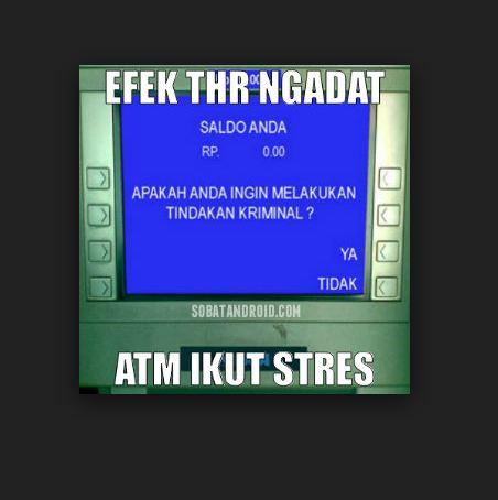 20 Meme saldo ATM yang tetap bikin kamu senyum meski belum gajian