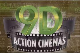 Kecanggihan bioskop 9D bakal membuatmu tercengang saat menonton