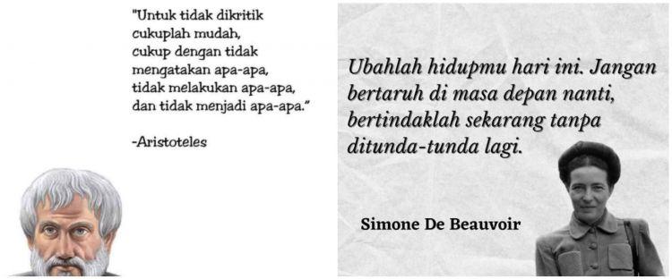 Kata-kata bijak para filsuf ini bisa mengubah hidupmu, resapi!