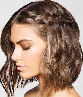 Rambut Pendek Juga Cantik Lho Dikepang Gaya Ini Bisa Kamu Coba - Hairstyle rambut pendek ke pesta