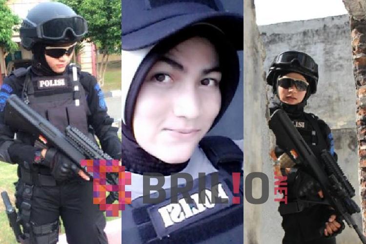 Perkenalkan Bripda Nina, polisi cantik jadi sniper 'pengawal' presiden