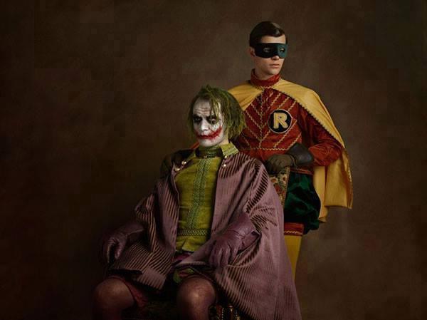 13 Wajah superhero di abad keenam belas, bikin pangling!