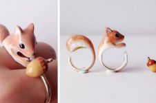 12 Cincin bermotif hewan ini imut, bikin jari manismu tambah indah!