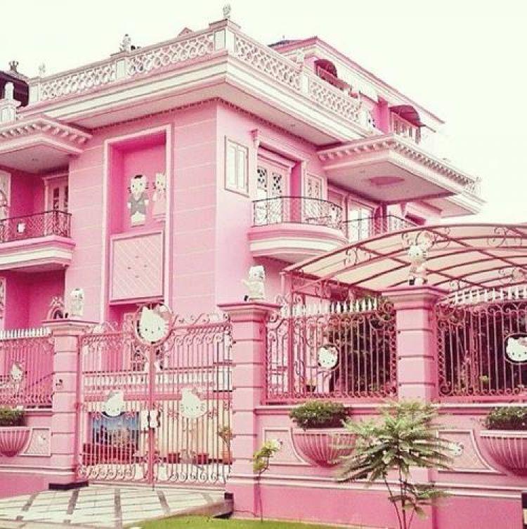 Apa Jadinya Jika Rumah Berdesain Hello Kitty 23 Desain Ini Pilih