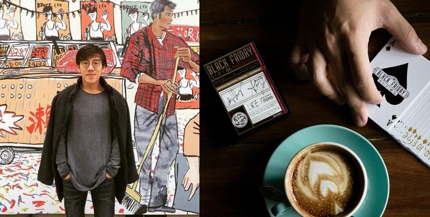 Edo Huang, seniman Indonesia yang bikin desain kartu remi Amerika