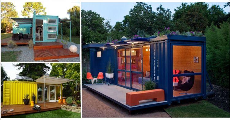15 Rumah indah ini dibuat dari  kontainer bekas  dua jempol