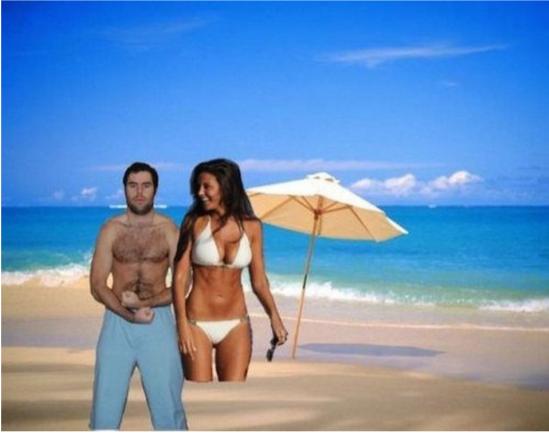 Ngebet liburan, 14 orang ini edit foto mereka tapi fail abis!