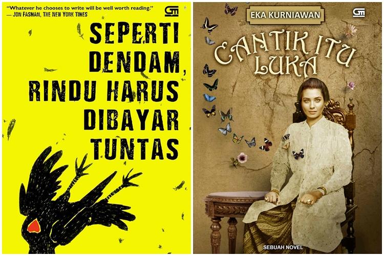 Ini karya Eka Kurniawan, yang tenar di luar negeri, kamu pernah baca?