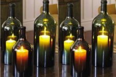 10 Dekorasi unik dari botol beling bekas, bikin rumahmu lebih indah!