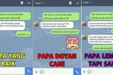 14 Tipe ayah berdasarkan cara membalas SMS anaknya, kocak abis!