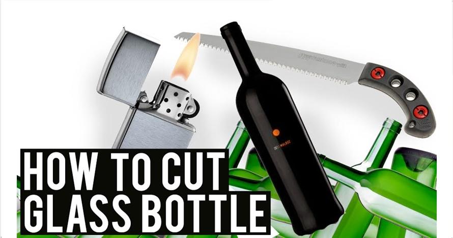 Ini trik memotong botol kaca biar hasilnya sempurna, bisa kamu coba!