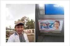 Hati-hati modus penipuan stiker palsu call center saat ATM tertelan!