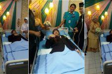 Kisah haru mempelai yang melangsungkan pernikahan di rumah sakit