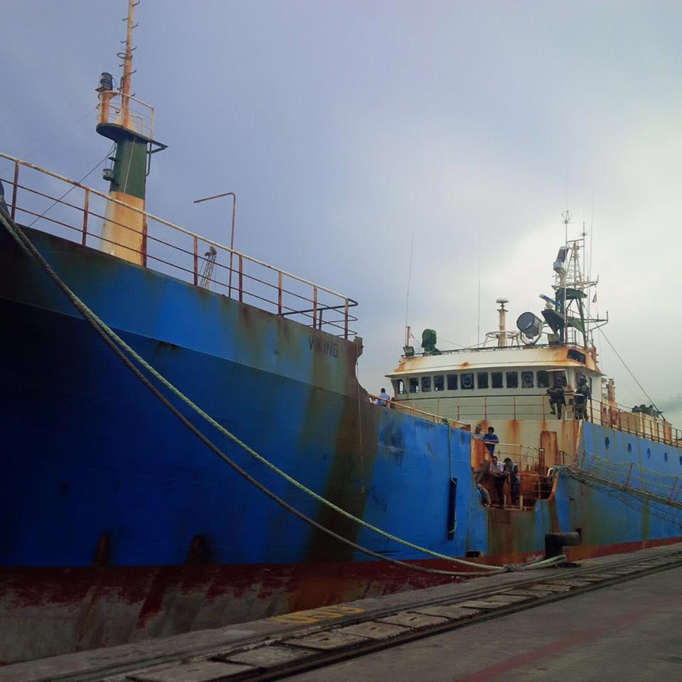 Kapal FV Viking buruan 13 negara akan ditenggelamkan di Pangandaran