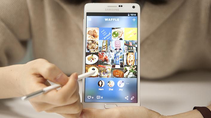 Yuk kenalan sama Waffle! Media sosial anyar buatan Samsung