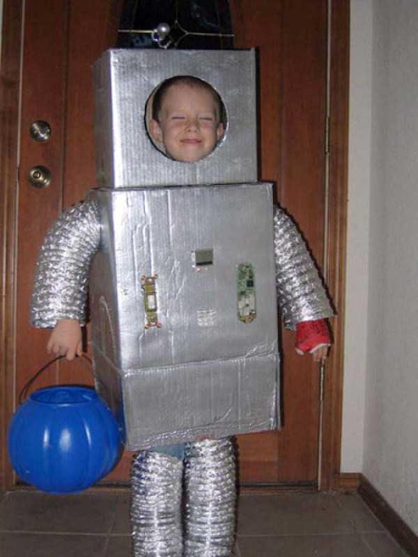 Новогодний костюм робота своими руками. « Мамин