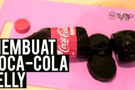 Coca Cola bisa dinikmati dalam bentuk jelly lho, begini cara bikinnya!