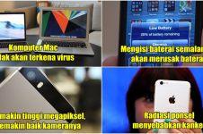 11 Mitos soal teknologi ini sudah terlanjur kamu percayai, padahal...