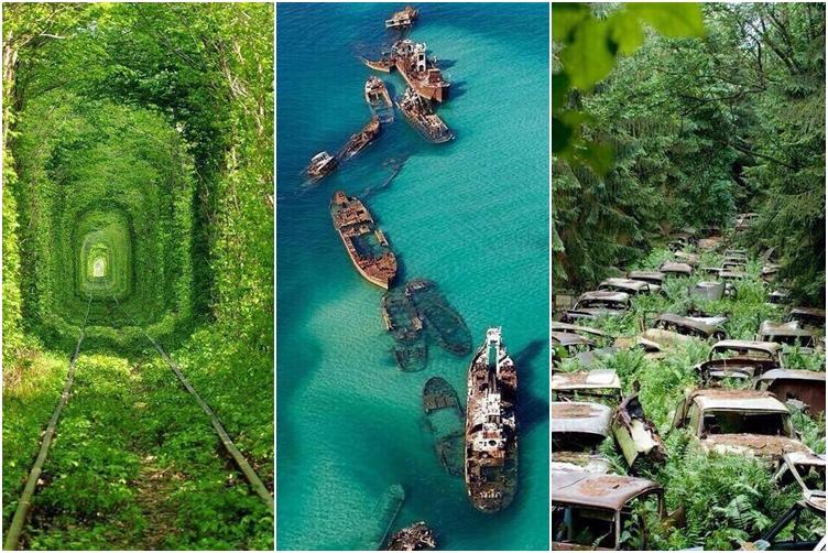 15 Tempat terbengkalai ini justru jadi spot foto yang keren!