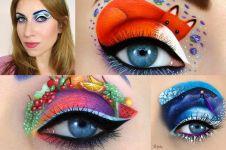 20 Riasan ini tunjukkan mata bisa jadi 'kanvas', kamu berani coba?