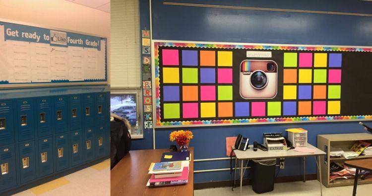 15 dekorasi ruang kelas ini kekinian ban bikin nggak mau bolos p