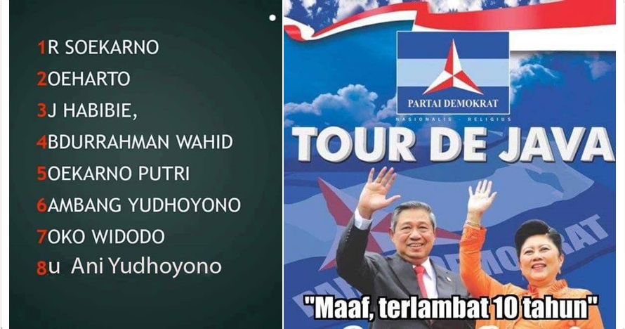 15 Meme Ani Yudhoyono maju capres ini pasti bikin kamu geli sendiri