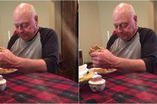 Kisah sedih kakek undang 6 cucunya makan malam, cuma 1 yang datang!