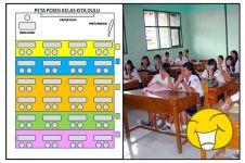 Karakter orang dari posisi duduk di kelas, siapa yang suka pojokan?