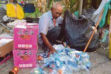Kakek 78 tahun ini kumpulkan sampah demi wujudkan cita-cita naik haji!