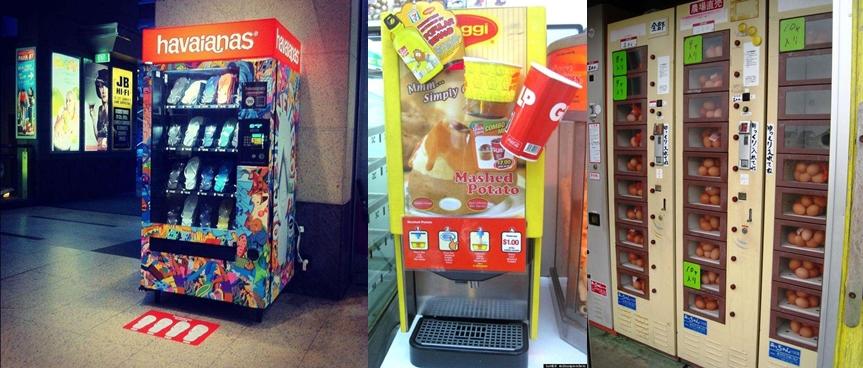 22 Barang tak terduga ini dijual via vending machine, awas terkejut!