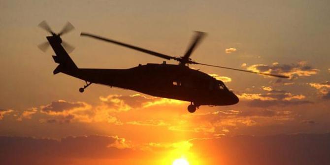 Helikopter TNI AD jatuh di Poso