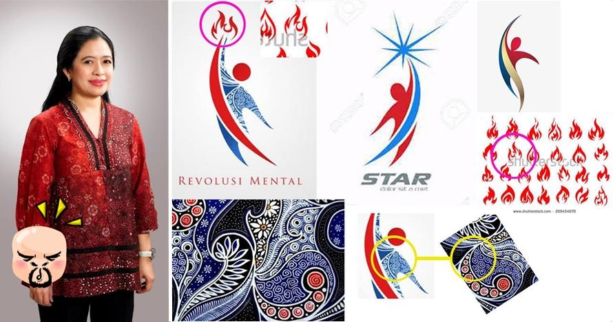 Pemenang logo Revolusi Mental kementerian PMK jadi perdebatan netizen