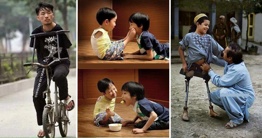 15 Foto ini akan membuatmu bersyukur dan berhenti mengeluh