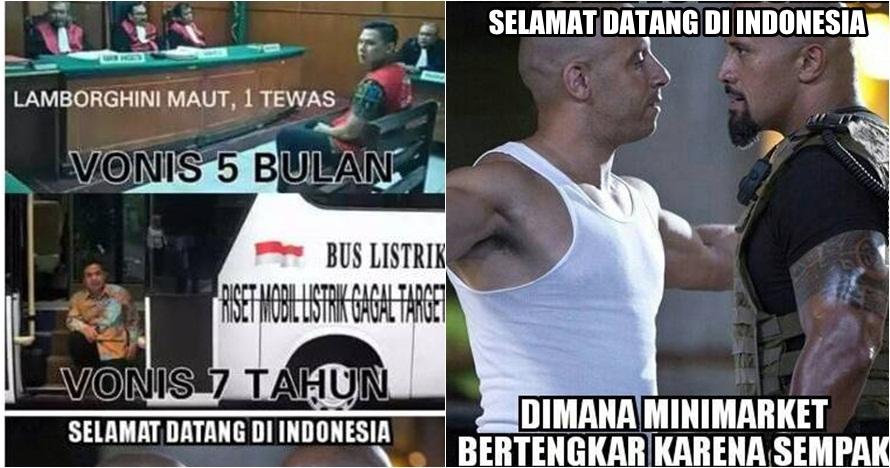 24 Meme 'Selamat Datang di Indonesia' ini nyindir kamu banget, ups!