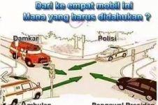 Kamu masyarakat patuh lalu lintas jika bisa menyelesaikan kasus ini!