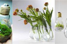Lampu bekas bisa bikin rumahmu kian warna-warni, coba saja cara ini!