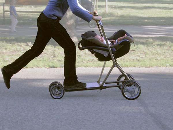 15 Tingkah ayah dalam merawat anaknya, antara kreatif dan konyol...