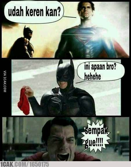 Meme Superhero Lucu