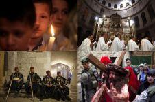 23 Foto khidmatnya suasana Paskah di Palestina, haleluya!