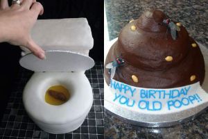 10 Kue ulang tahun ini dijamin bikin kamu mual-mual, menjijikkan ya!