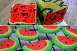 17 Kue lezat mirip semangka ini bikin lidah bergoyang, coba deh!