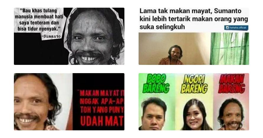 Mau lagi? 17 Meme Sumanto yang bikin ngakak guling-guling campur ngeri