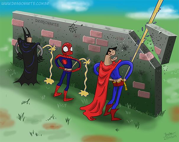 20 Komik strip superhero ini dijamin bikin kamu cekikikan, gokil abis!