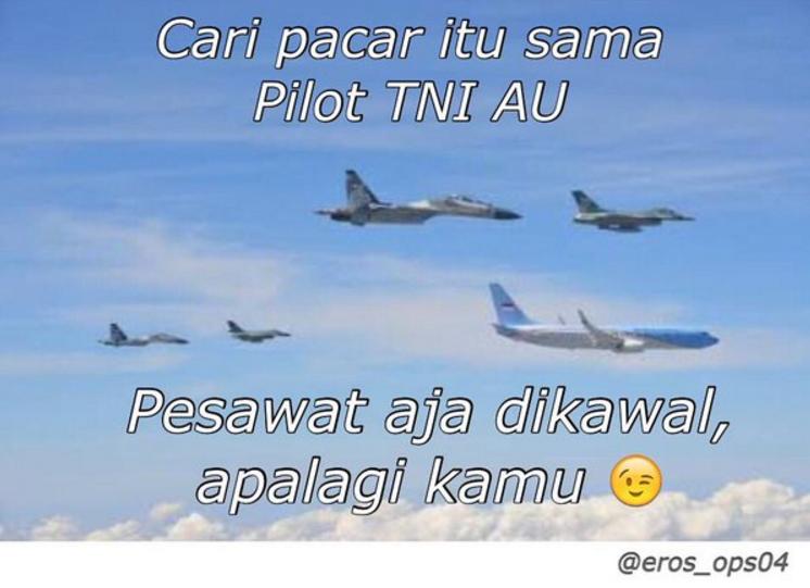 Nggak hanya admin @_TNIAU yang kocak, 17 meme ini juga bikin ngakak!