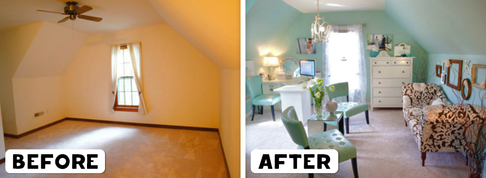 3. & 20 Foto before-after makeover rumah bikin pengen benahi rumah deh!