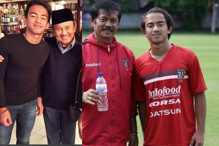 Kenalkan Rafid Habibie, cucu Habibie yang jago main bola!