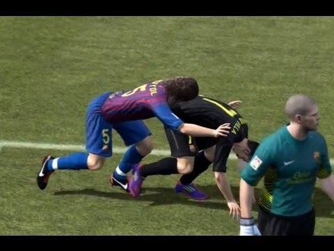 15 Momen fail FIFA dan PES, ngaco banget deh!